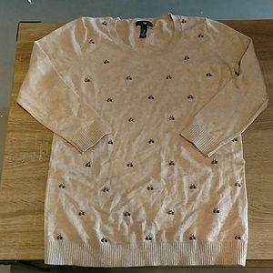 Gap Sweater with Rhinestones
